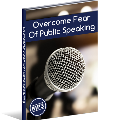 overcome fear of public speaking hypnosis