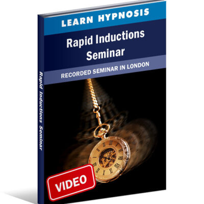 Rapid Inductions For Hypnotherapists - Videos Of Seminar